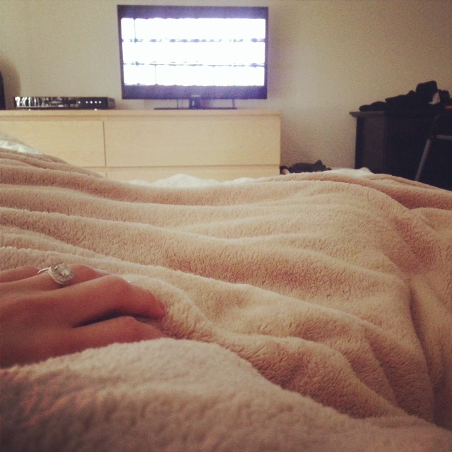 sick day in bed