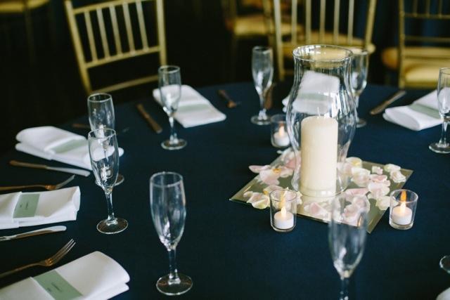 wedding table inexpensive centerpiece