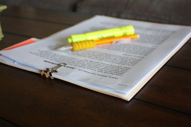 editing my e-book