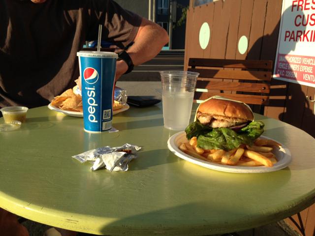 jim and robs fresh grill ventura ca turkey burger
