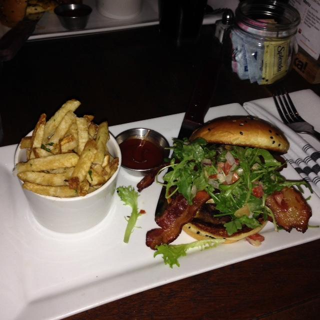 Fig Burger at Eureka