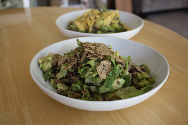 taco salad leftovers