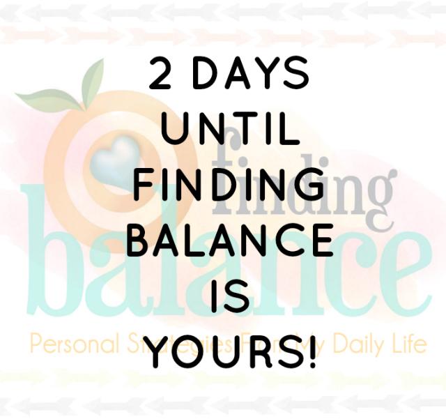 finding balance e-book