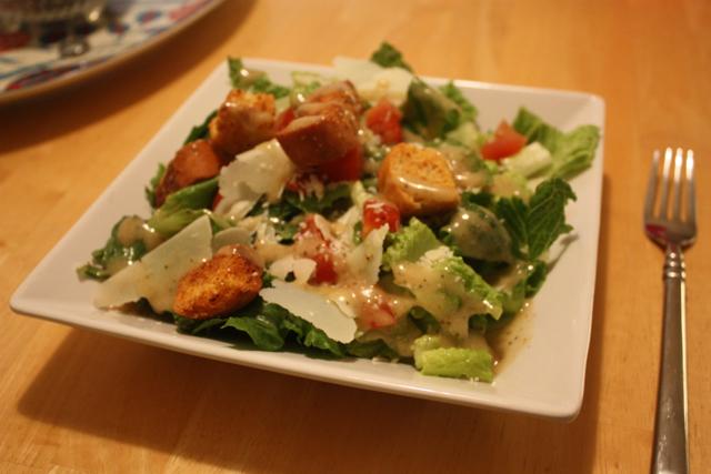 three simple salad ideas/recipes