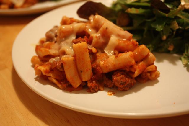 healthy hits the spot pasta recipe