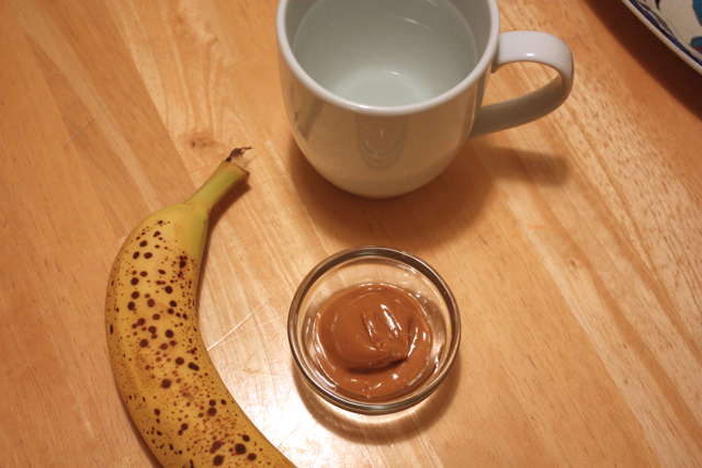 banana and peanut butter