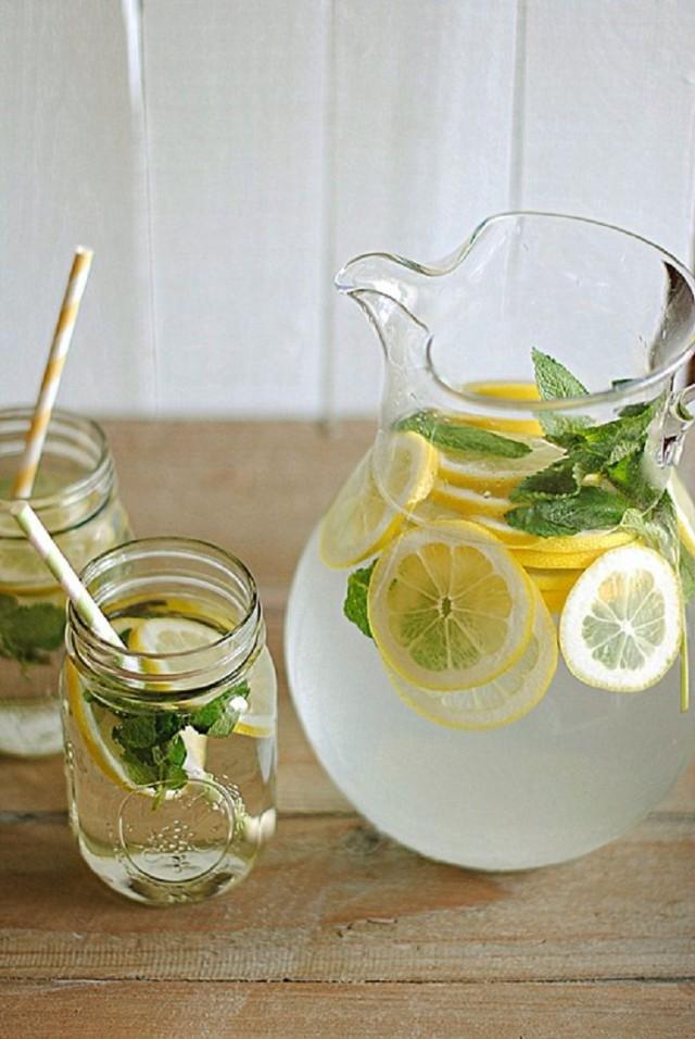 lemon-mint water