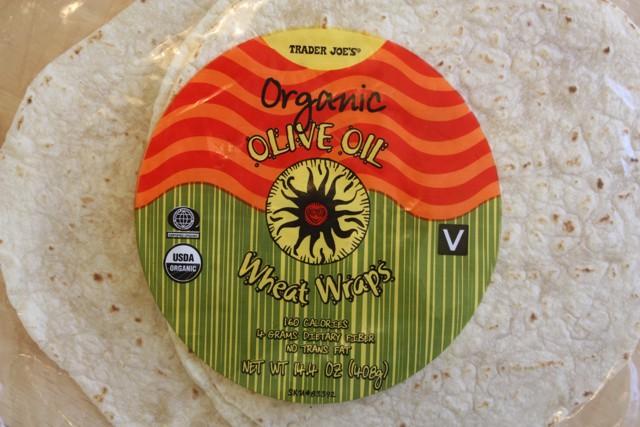 organic olive oil wheat wraps