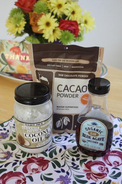 cacao powder coffee