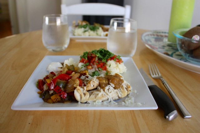 chipotle inspired dinner at home
