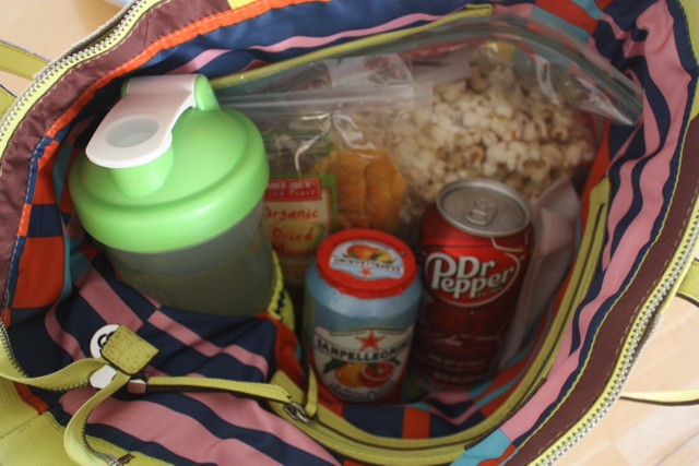 pack snacks in purse to the movies