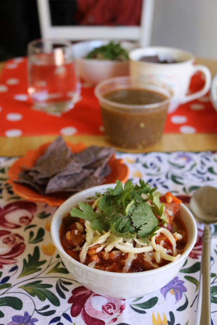 Daily Eats | Healthy Hits the Spot | Homemade Vegetarian Chili