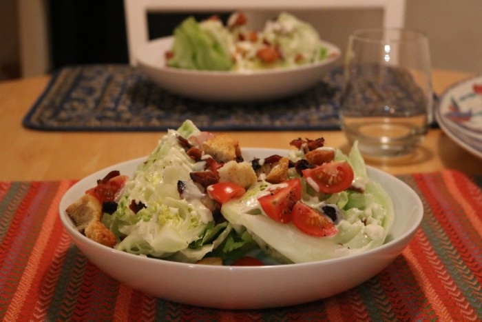 Healthy Hits the Spot | Daily Eats | Wedge Salad