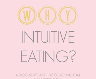 WHY Intuitive Eating with Paige & Sim