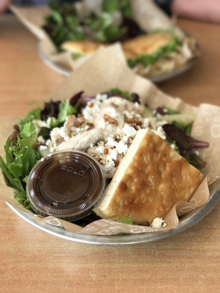 Salad at Urbane cafe