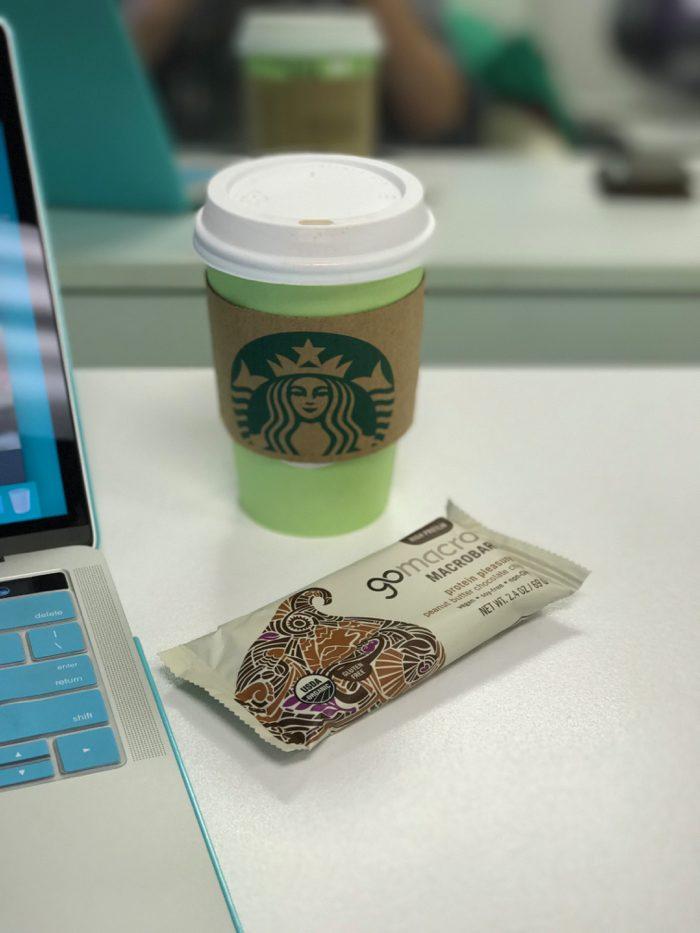 Daily Eats | Healthy Hits the Spot | Coffee and Macro Bar