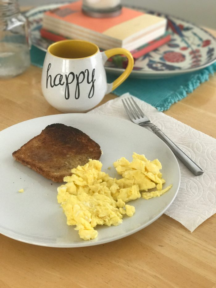 Daily Eats | Healthy Hits the Spot | Toast and Eggs