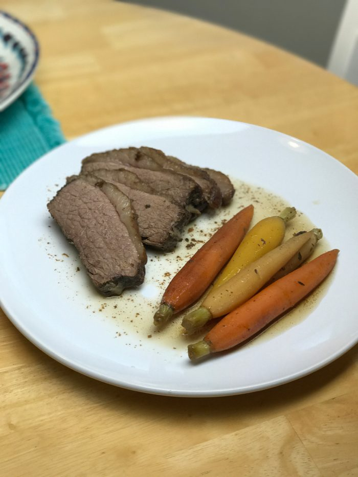 Daily Eats | Healthy Hits the Spot | Brisket and Carrots