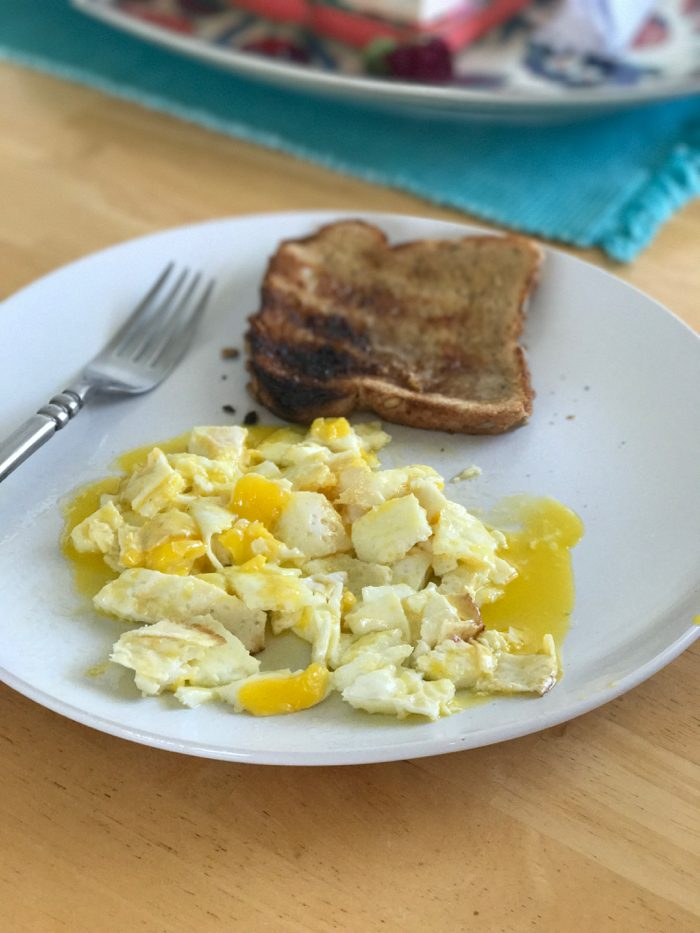 Daily Eats | Healthy Hits the Spot | Eggs and Toast