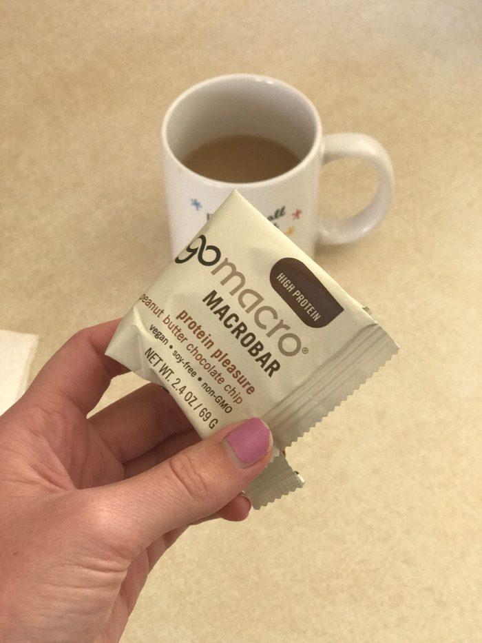 Daily Eats | Healthy Hits the Spot | Macro Bar and Coffee