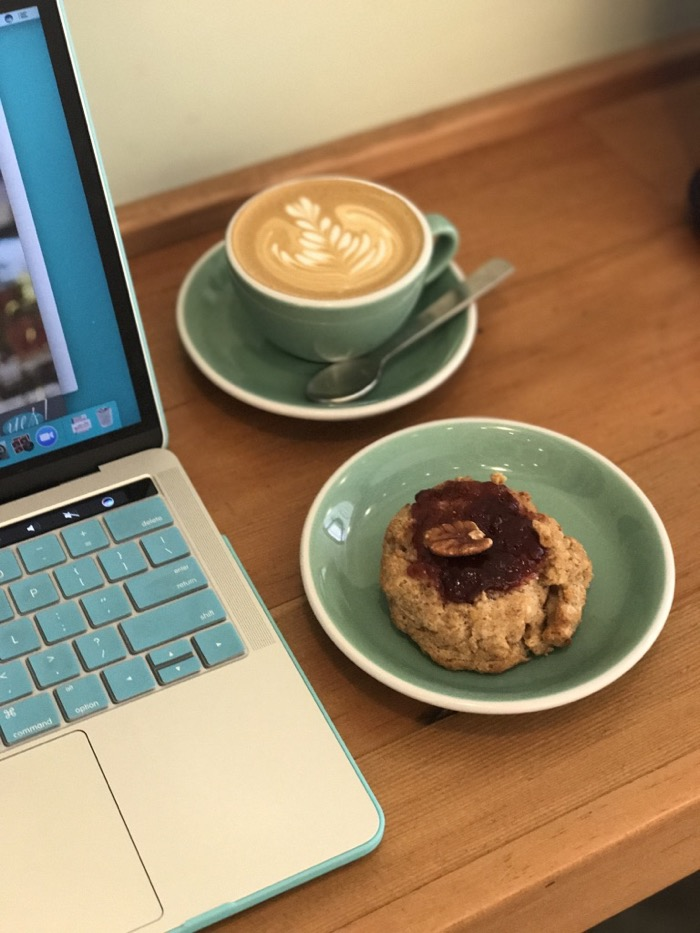 Daily Eats | Healthy Hits the Spot | Coffee and Scone